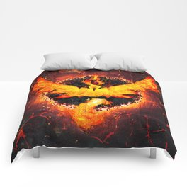 Flames of Valor Comforters