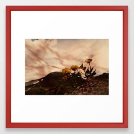 Hot and Hot Framed Art Print