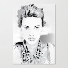 Scarlett-Johansson Canvas Print