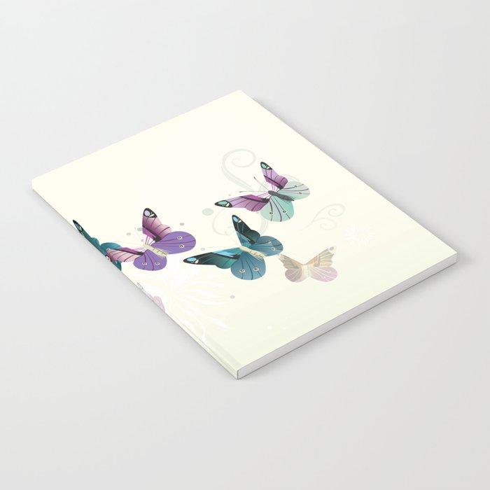 Butterfly dance Notebook