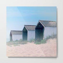 Life on the beach Metal Print