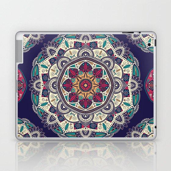 Colorful Mandala Pattern 007 Laptop & iPad Skin