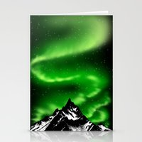 aurora Stationery Cards featuring aurora by barmalisiRTB
