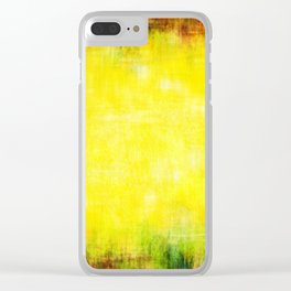 Colors of summer abstract woven texture Clear iPhone Case