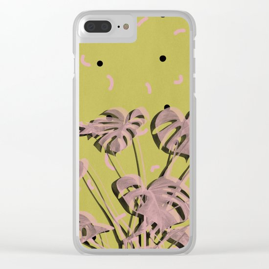 Monstera 2 Clear iPhone Case