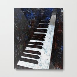 Piano Modern art Metal Print