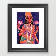 Lakshmi Framed Art Print