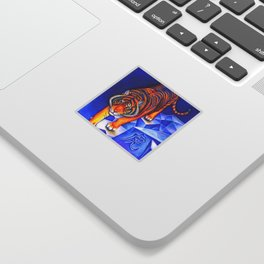 Chinese Zodiac Year of the Tiger Sticker