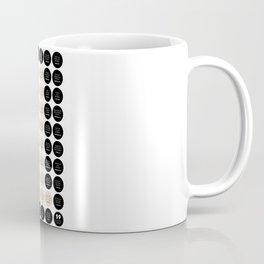 59 One Another's (black & beige)  Coffee Mug