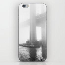 Verrazano Bridge: Divided by the Fog iPhone Skin