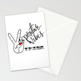 Positive Vibes Tribe Stationery Cards