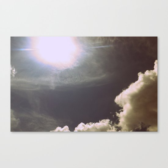 Blinded By the Light Canvas Print