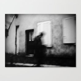 I follow you in the street, sometimes. 3 Canvas Print