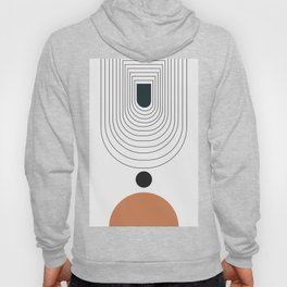 Abstract circles and gate background Hoody
