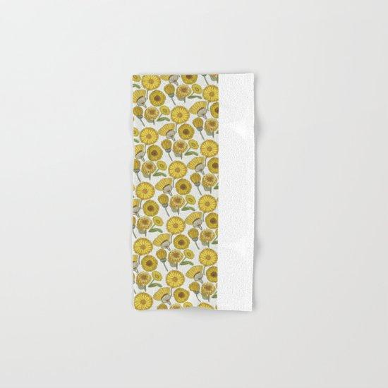 Calendula Florals Hand & Bath Towel
