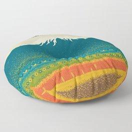 Mount Kilimanjaro Floor Pillow