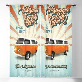 1971 VWBus Type 2 Blackout Curtain
