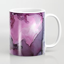 Abstract Ink Painting Ethereal Flowing Watercolor Nebula Coffee Mug