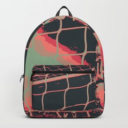 Goal keeper diving save Backpack