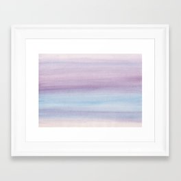 Pastel Watercolor Dream #1 #painting #decor #art #society6 Framed Art Print
