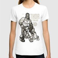 finland T-shirts featuring Thor of Finland by Randy Meeks