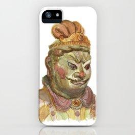 Buddhist statue iPhone Case