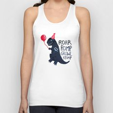 I am a Party Pooper Unisex Tank Top