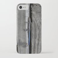 lizard iPhone & iPod Cases featuring Lizard by Veronica Ventress