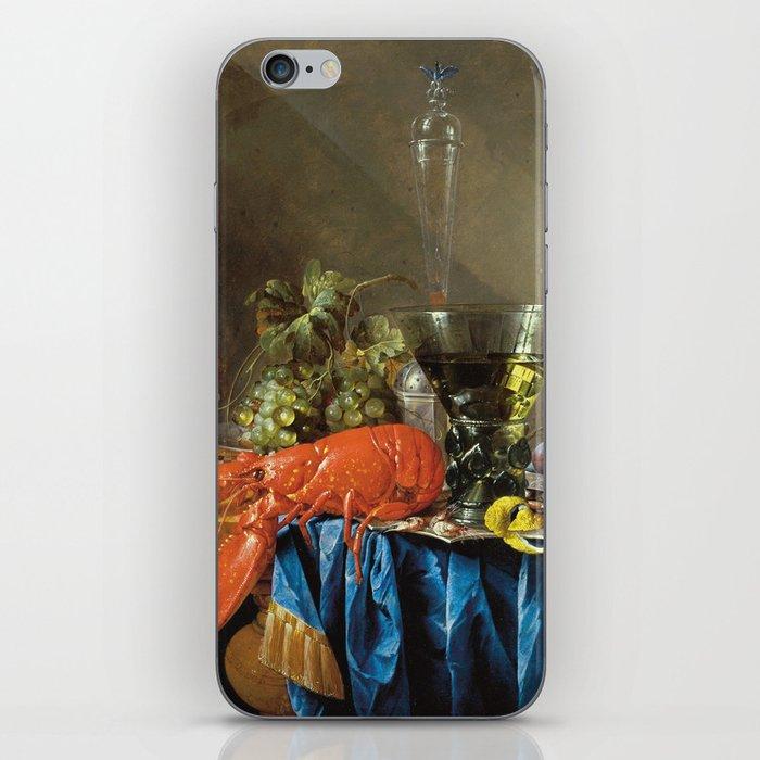 Cornelis De Heem - Still Life With Lobster iPhone Skin