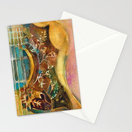 Gibson Hummingbird Acoustic Guitar Stationery Cards