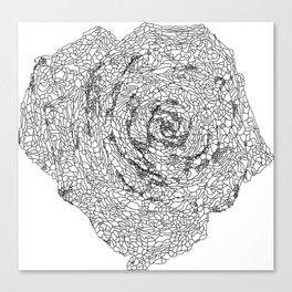 Matrix Rose Canvas Print