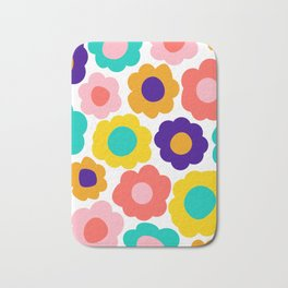 Flowers Pop Bath Mat