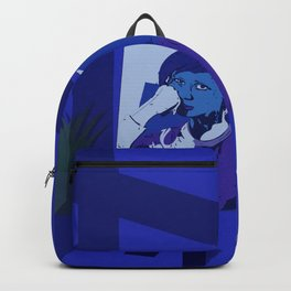 Into a broken paradise Backpack