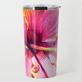 Tropical Bliss Hibiscus Travel Mug