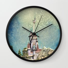 Magical Castle Wall Clock