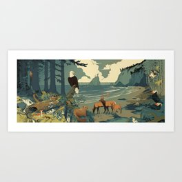National Parks: Olympic Art Print
