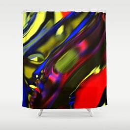 Incarnation of Madness Shower Curtain