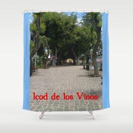 Icod de los Vinos   (A7 B0014) Shower Curtain