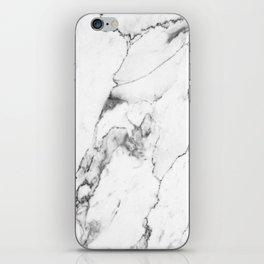 White Marble I iPhone Skin