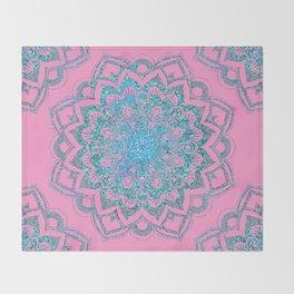 Ocean Mandala Throw Blanket