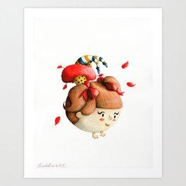 Little Acrobat Art Print