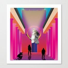 Retrowave chapter 9 Canvas Print