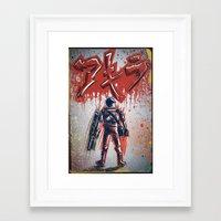 akira Framed Art Prints featuring Akira by Joe Badon