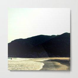 Parasdise Beach Metal Print