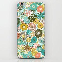 February Floral iPhone Skin