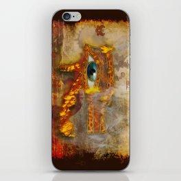 Desert Fire - Eye of Horus iPhone Skin
