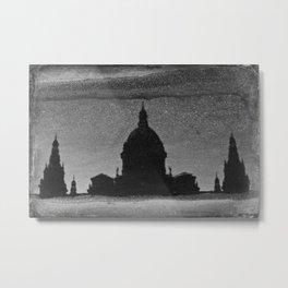 Reflected Metal Print