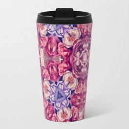 berry floral Travel Mug