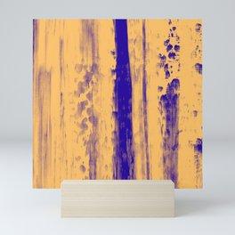 Gerhard Richter Inspired Abstract Urban Rain 4 Modern Art - Corbin Henry Mini Art Print
