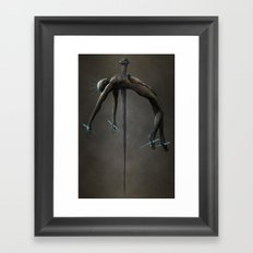 Pierced Through My Soul Framed Art Print
